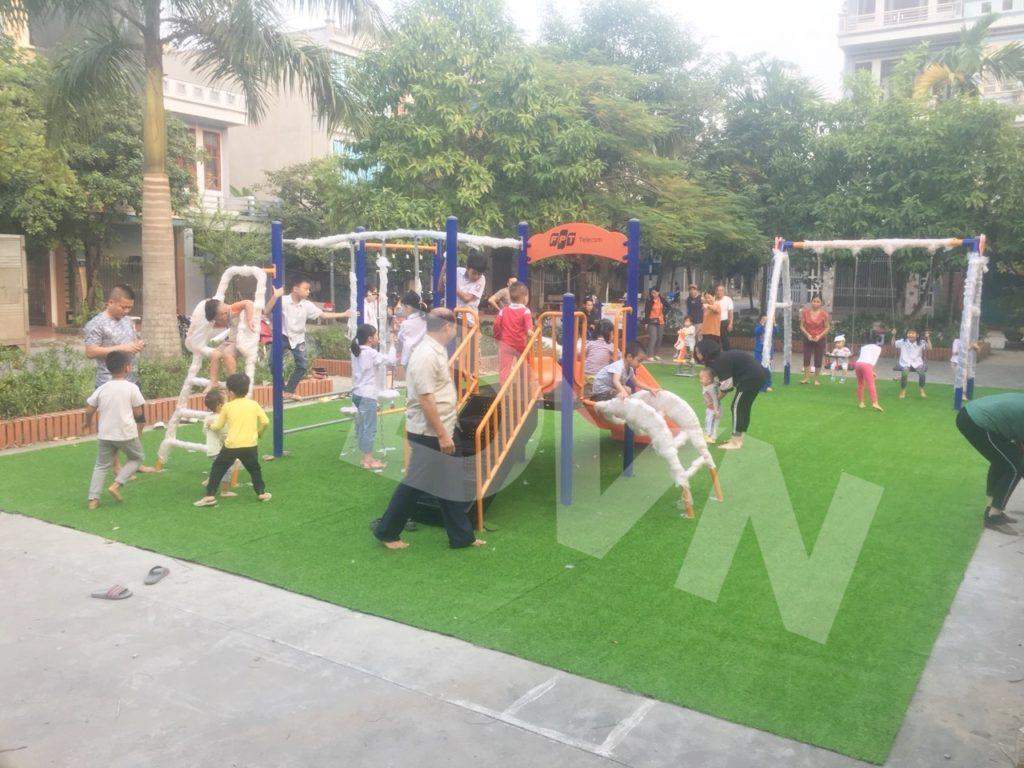 1, Một số hình ảnh sân chơi cỏ nhân tạo tại Thái Bình 2