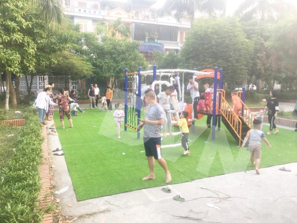 1, Một số hình ảnh sân chơi cỏ nhân tạo tại Thái Bình 3