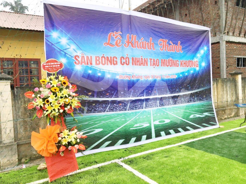1, Một số hình ảnh sân bóng tạiMường Khương, Lào Cai 1