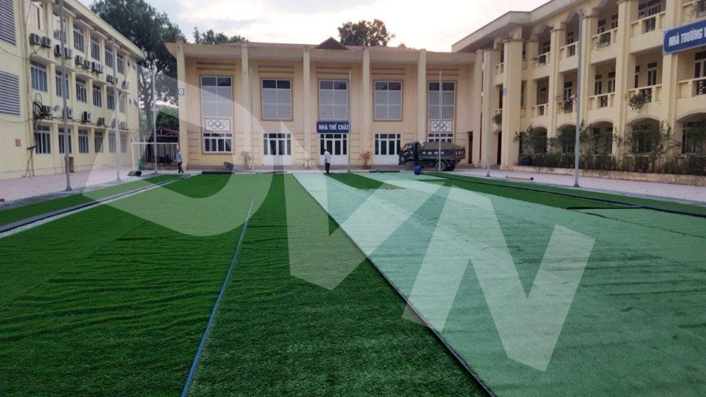 1, Một số hình ảnh sân bóng Trường tiểu học Tiền Phong 3