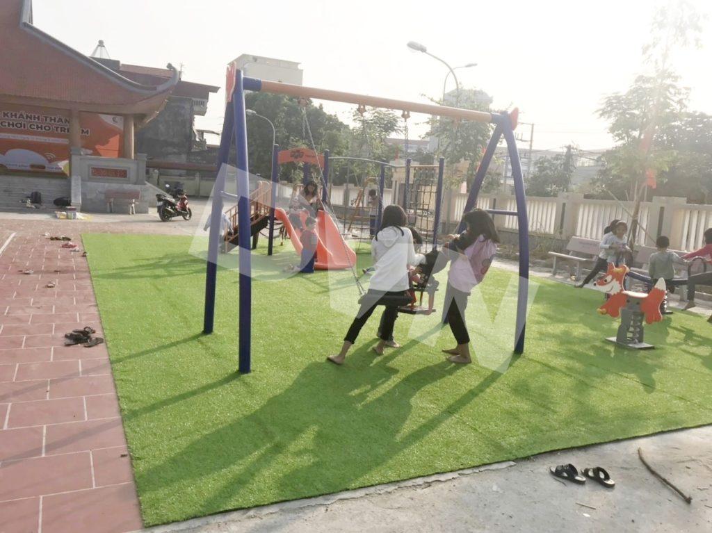 1, Một số hình ảnh sân chơi tại Nhà văn hoá Văn Nhuế, Hưng Yên 1