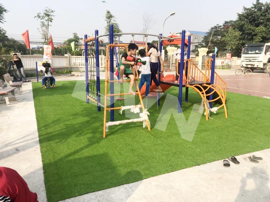 1, Một số hình ảnh sân chơi tại Nhà văn hoá Văn Nhuế, Hưng Yên 2