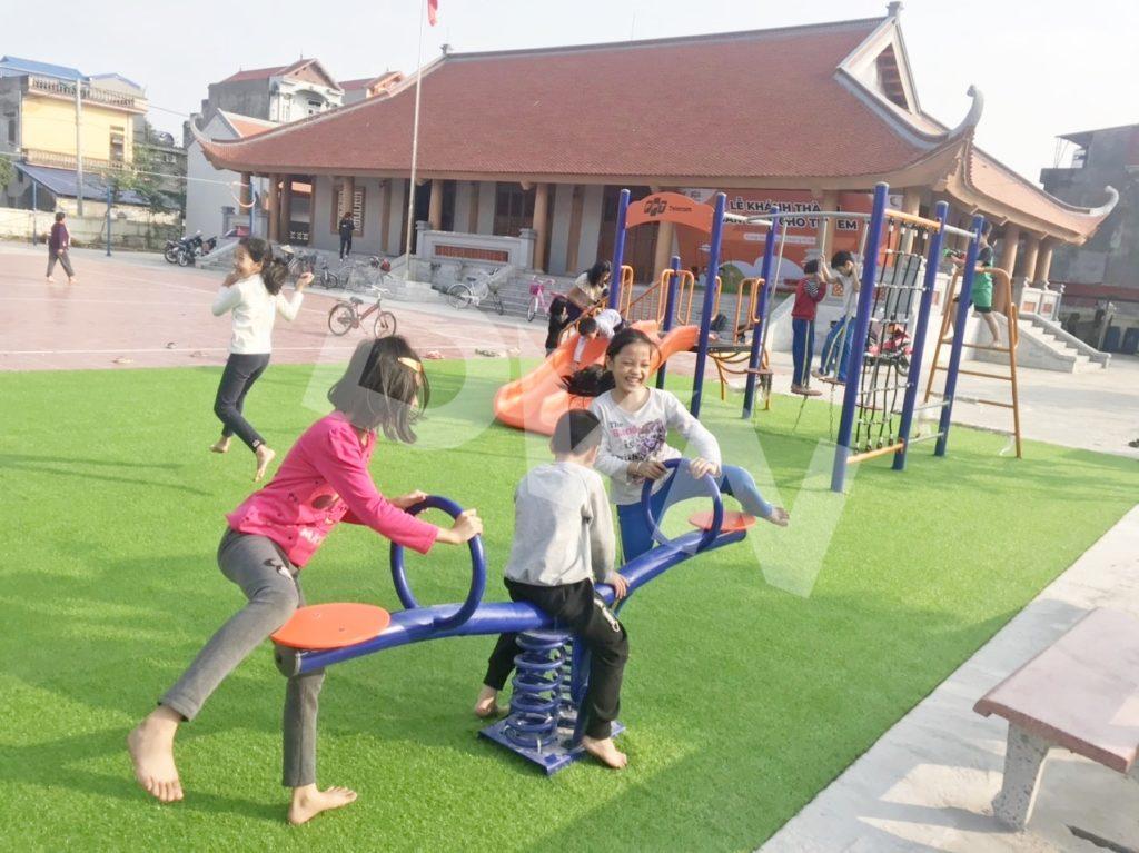 1, Một số hình ảnh sân chơi tại Nhà văn hoá Văn Nhuế, Hưng Yên 4