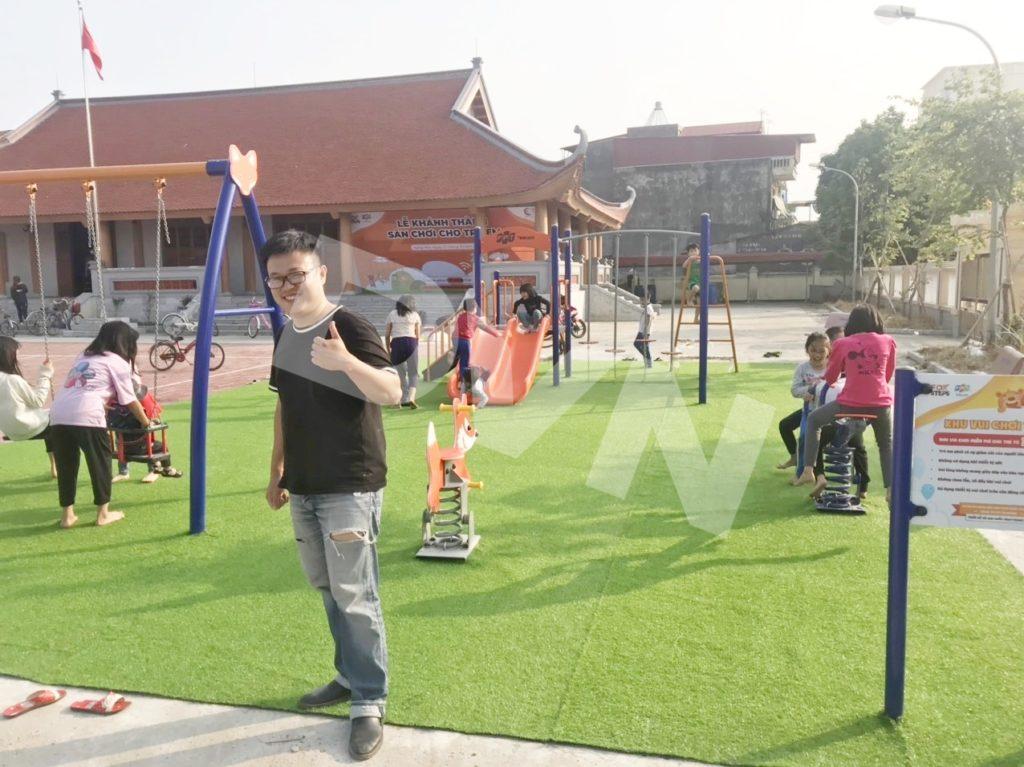 1, Một số hình ảnh sân chơi tại Nhà văn hoá Văn Nhuế, Hưng Yên 5