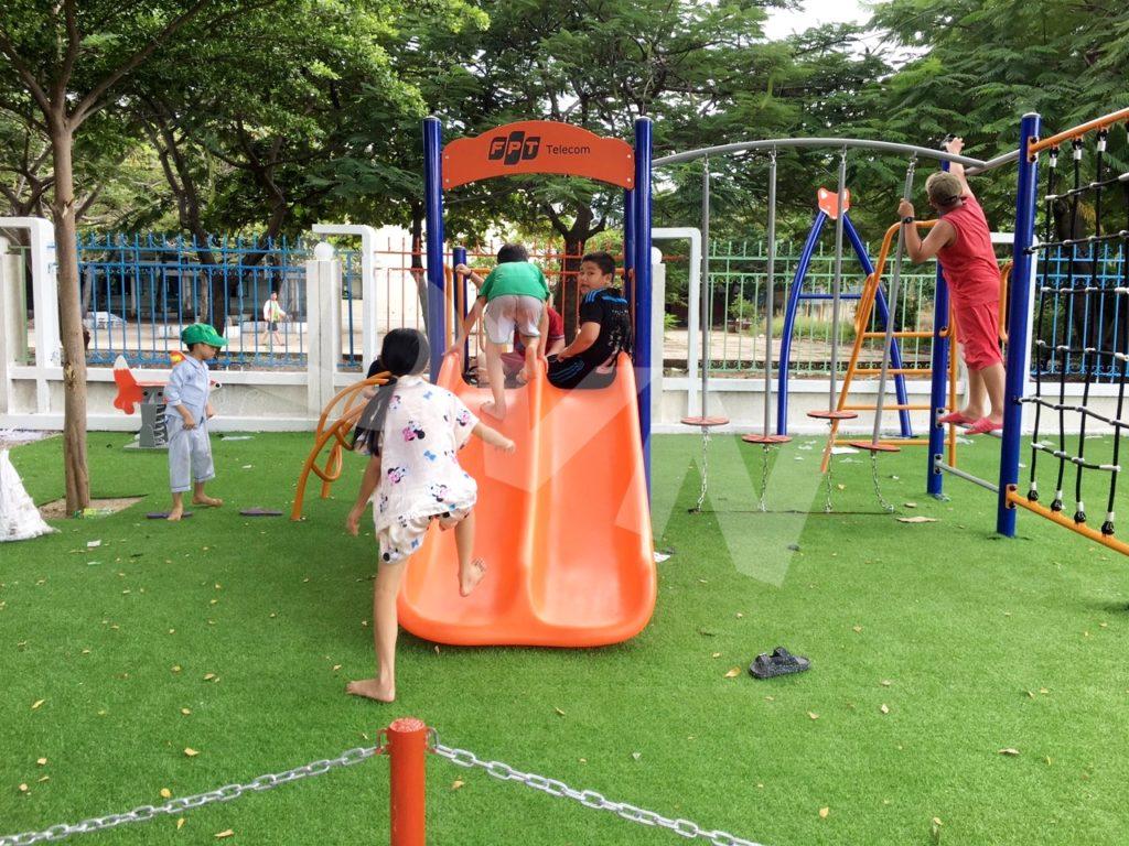 1, Một số hình ảnh sân chơi tại Trường tiểu học Đài Sơn 1