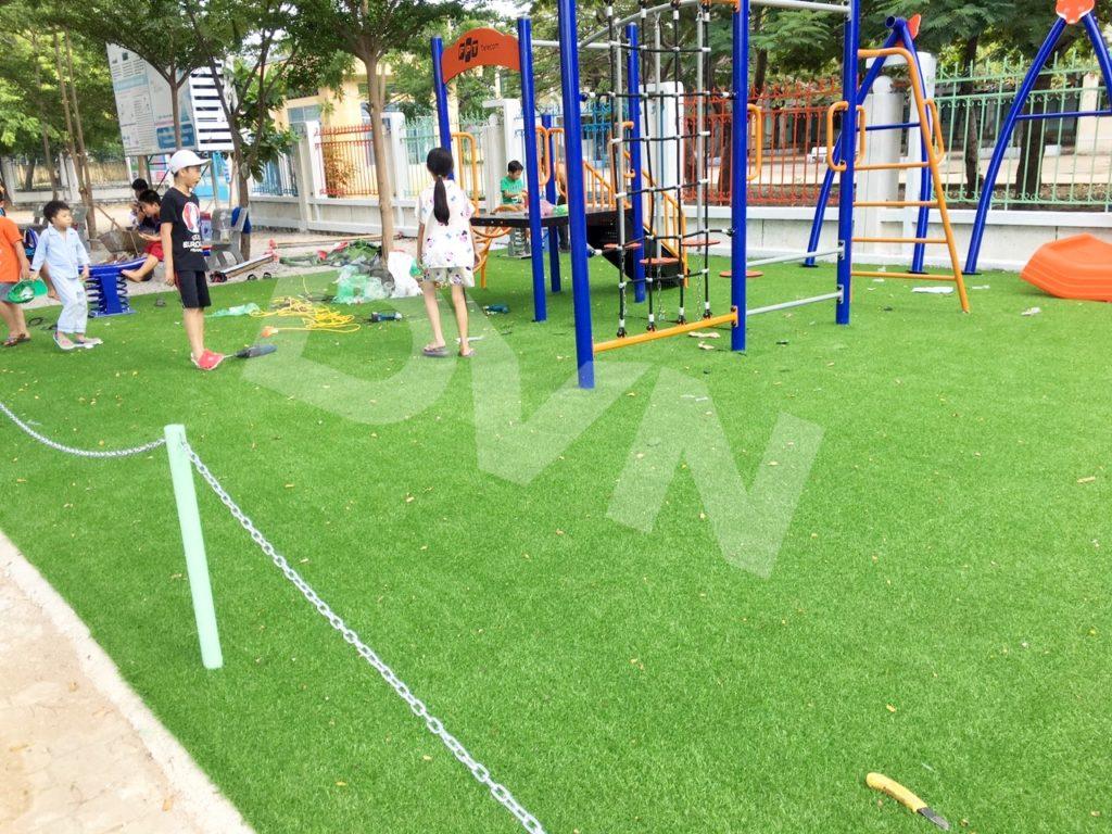 1, Một số hình ảnh sân chơi tại Trường tiểu học Đài Sơn 2