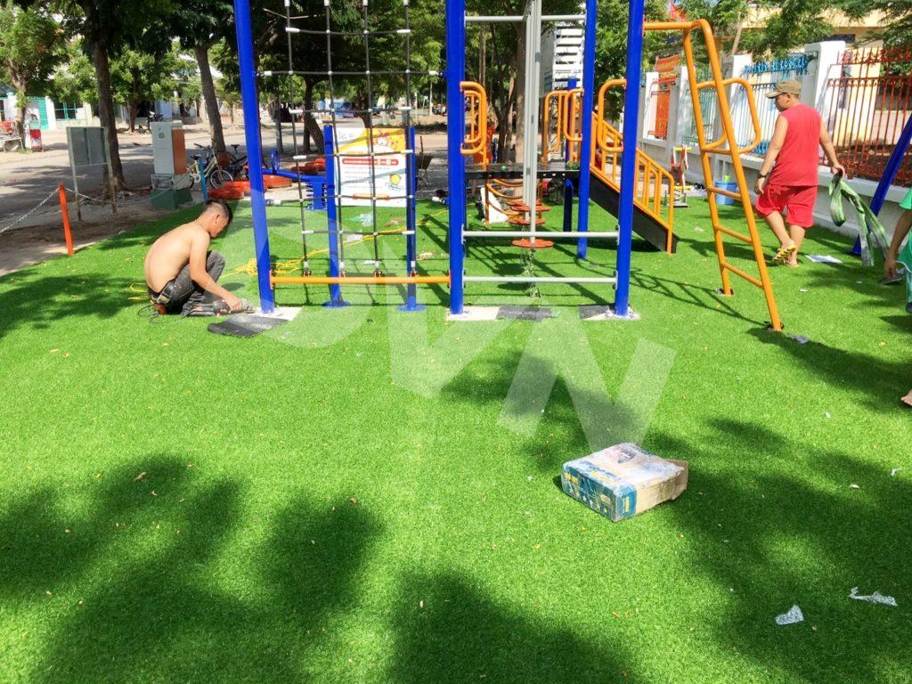 1, Một số hình ảnh sân chơi tại Trường tiểu học Đài Sơn 4