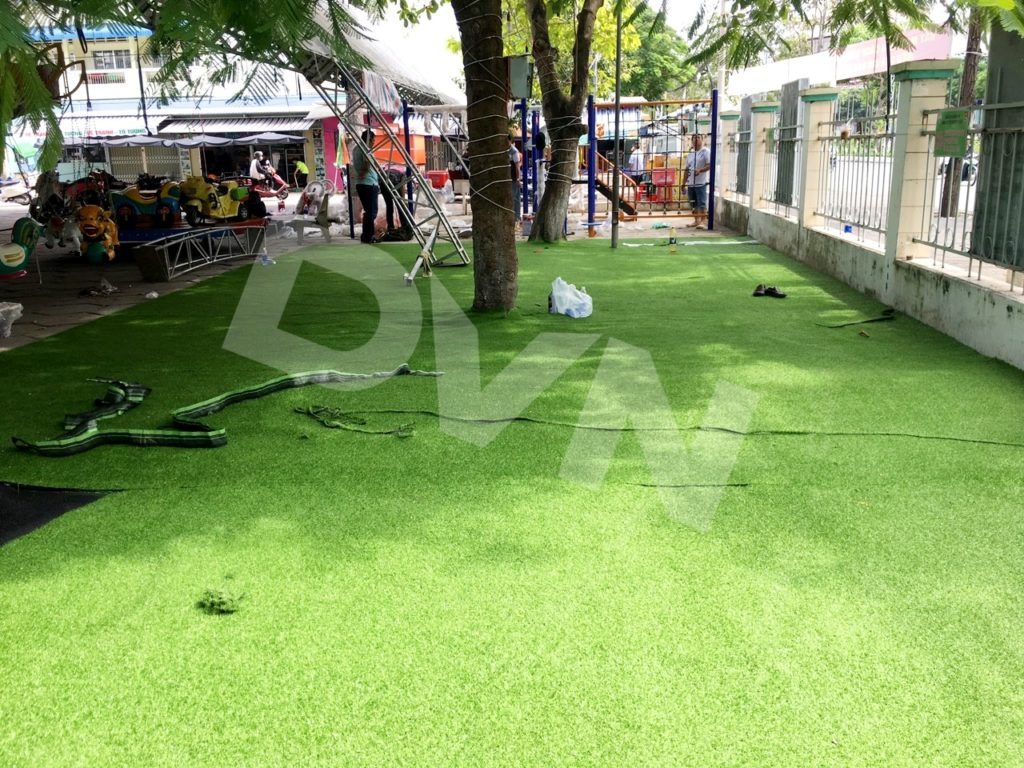 1, Một số hình ảnh sân chơi tạiNhà văn hóa thiếu nhi quận Ninh Kiều 1