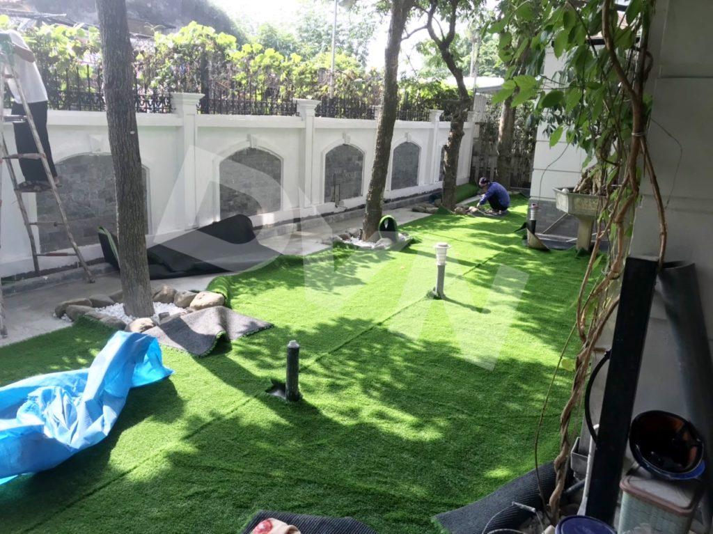 1, Một số hình ảnhsân vườn tại KĐT Ecopark Hưng Yên 1