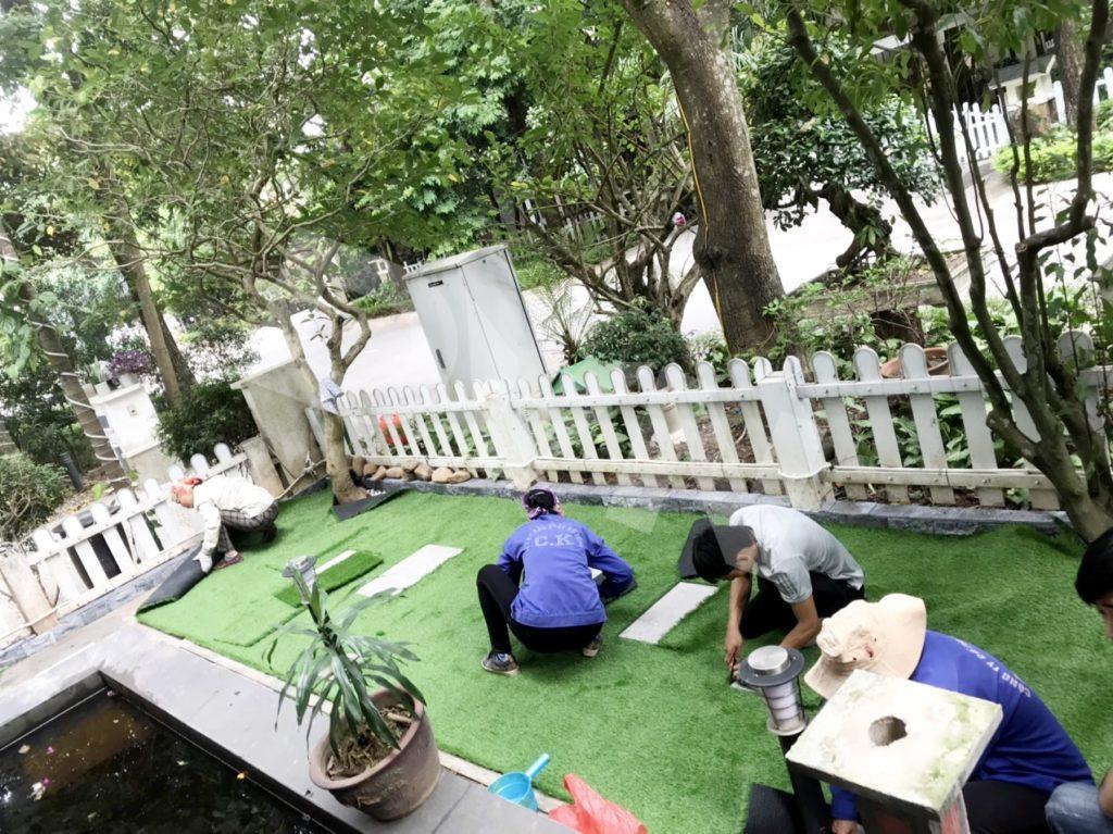 1, Một số hình ảnhsân vườn tại KĐT Ecopark Hưng Yên 4