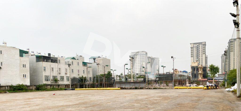 1, Một số hình ảnh sân bóng Trường ĐH Đại Nam 5