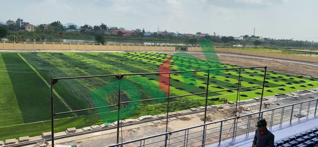 1, Một số hình ảnh của Sân vận động huyệnAn Lão 4