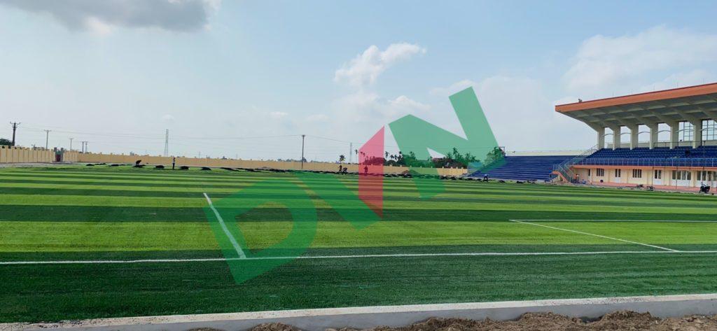 1, Một số hình ảnh của Sân vận động huyệnAn Lão 6