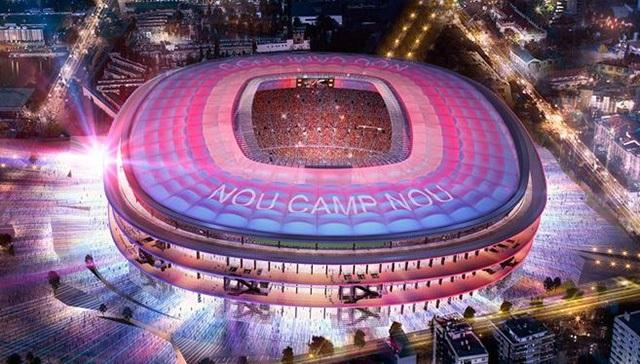 Sân vận độngNou Camp ( Tây Ban Nha) 1