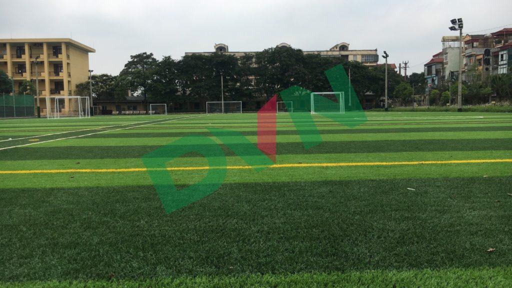 1,Một số hình ảnh sân bóng cỏ nhân tạo Trường Cao Đẳng Đường Sắt 3