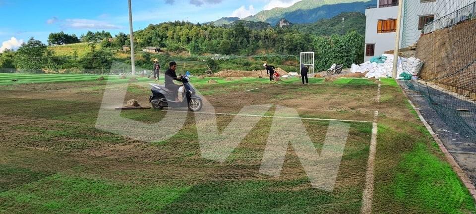 1, Một số hình ảnh của dự án sân bóng đá tại Sa Pa, Lào Cai 4