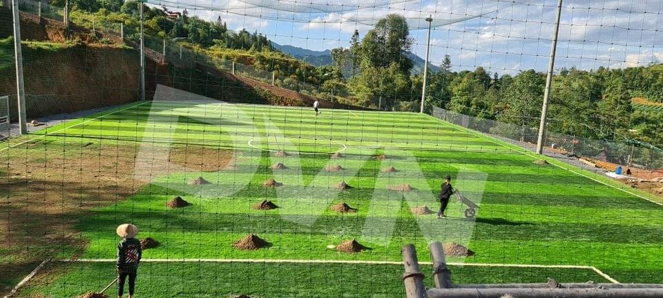 1, Một số hình ảnh của dự án sân bóng đá tại Sa Pa, Lào Cai 3