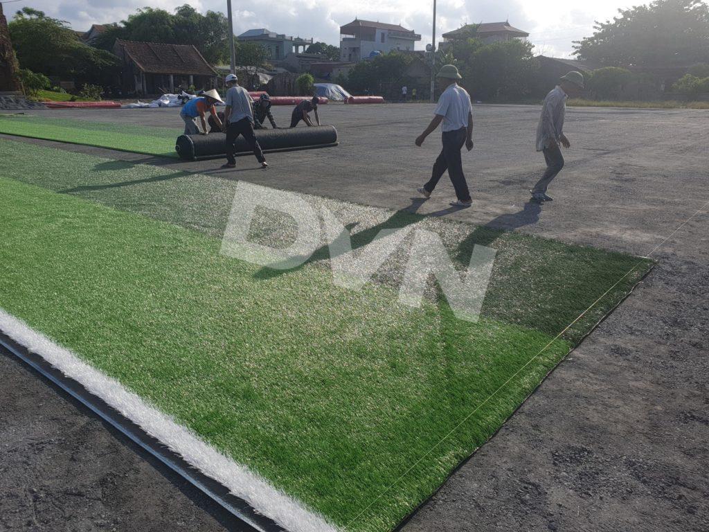 1. Một số hình ảnh tại sân bóng cỏ nhân tạo Nam Trực, Nam Định 2