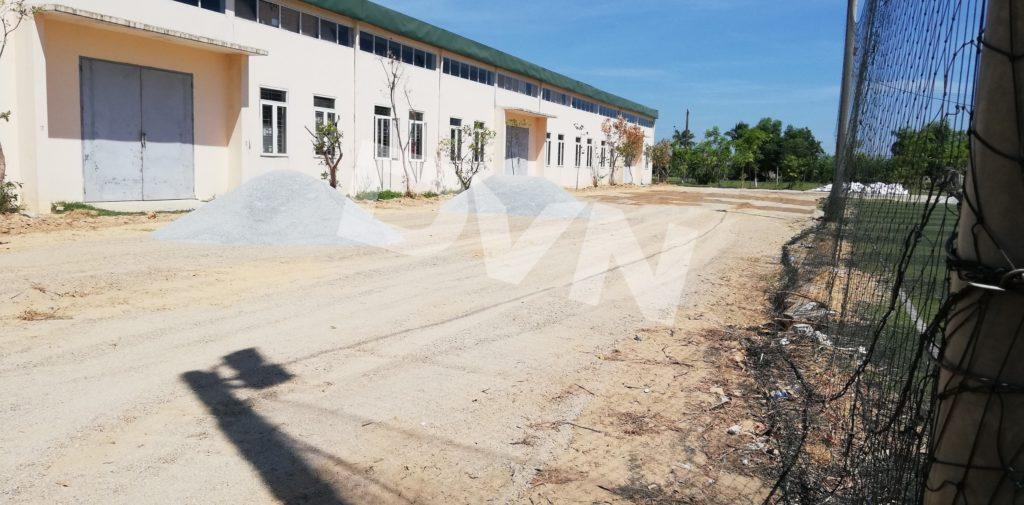 1, Một số hình ảnh của dự án cụm sân bóng đá và bóng chuyền Việt Đức, Hà Tĩnh 2