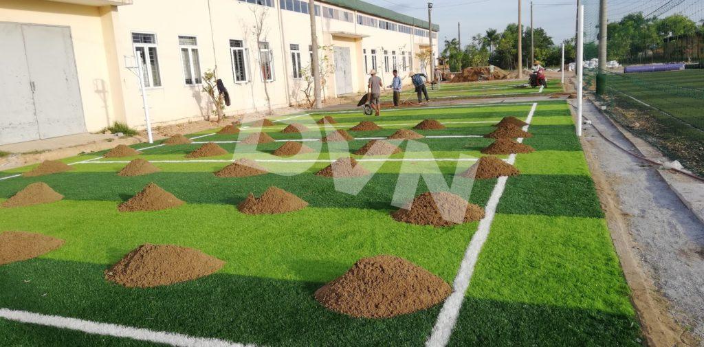 1, Một số hình ảnh của dự án cụm sân bóng đá và bóng chuyền Việt Đức, Hà Tĩnh 3