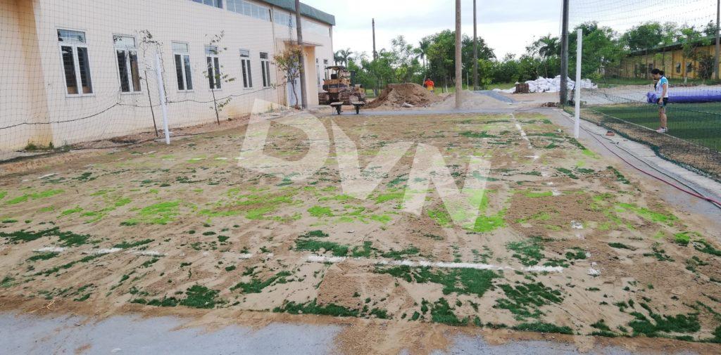 1, Một số hình ảnh của dự án cụm sân bóng đá và bóng chuyền Việt Đức, Hà Tĩnh 4
