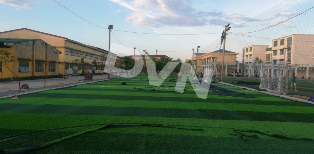 1, Một số hình ảnh của dự án cụm sân bóng đá và bóng chuyền Việt Đức, Hà Tĩnh 9