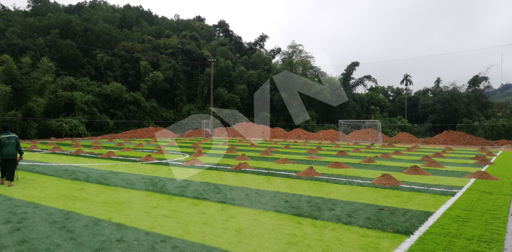 1, Một số hình ảnh của dự án sân bóng đá tại Vụ Bản, Nam Định 2