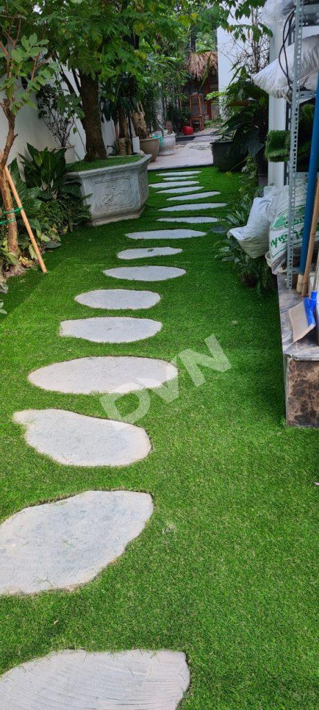 1, Một số hình ảnh sân vườn nhà ở VinHomes Long Biên 3