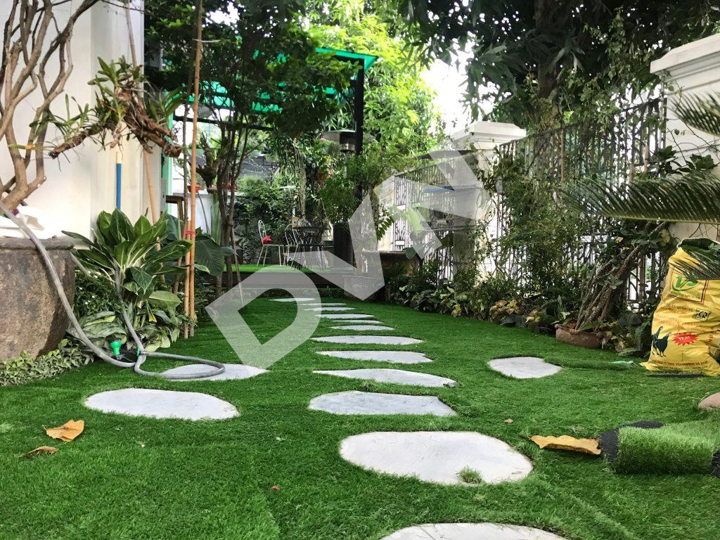 1, Một số hình ảnh sân vườn nhà ở VinHomes Long Biên 1