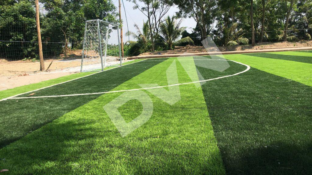 1, Một số hình ảnh của dự án sân bóng đá Trường THPT Ái Quốc 3