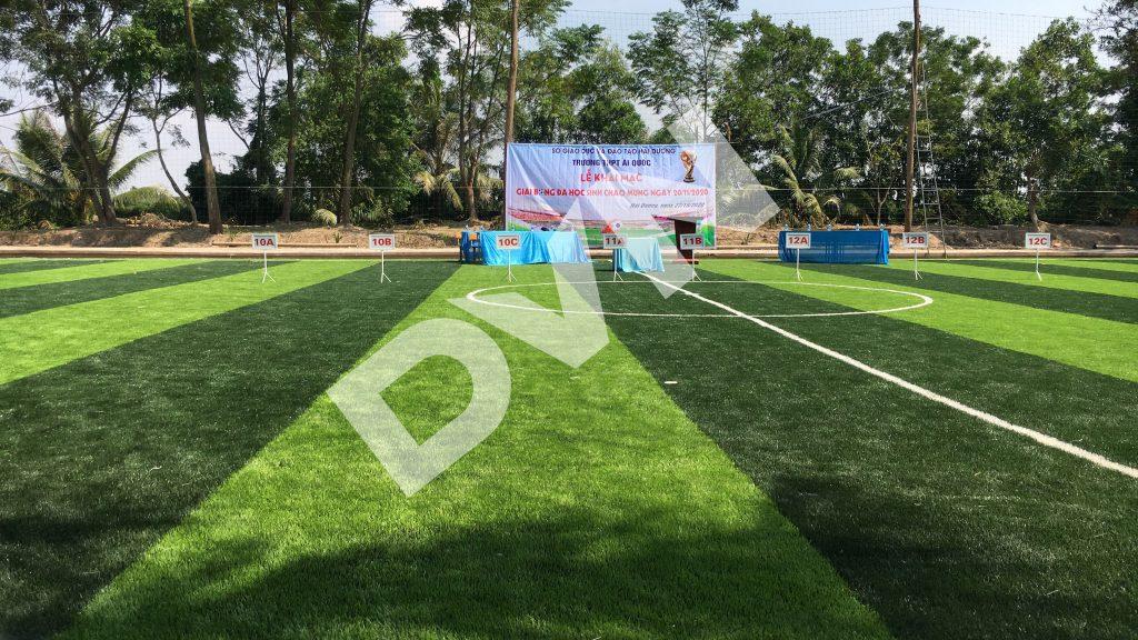 1, Một số hình ảnh của dự án sân bóng đá Trường THPT Ái Quốc 4