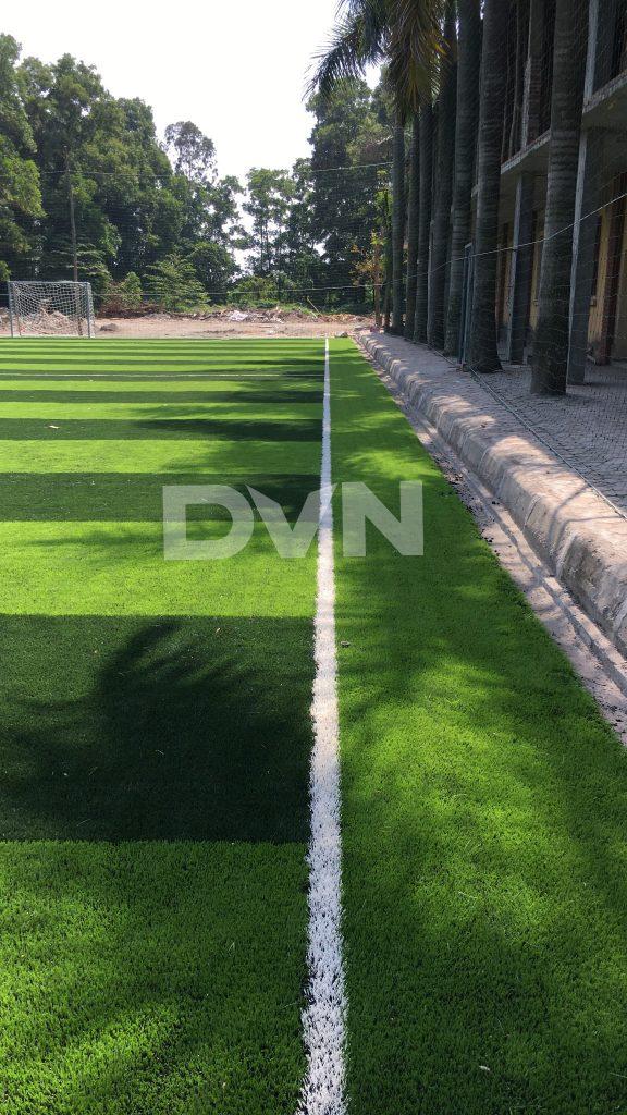 1, Một số hình ảnh của dự án sân bóng đá Trường THPT Ái Quốc 5