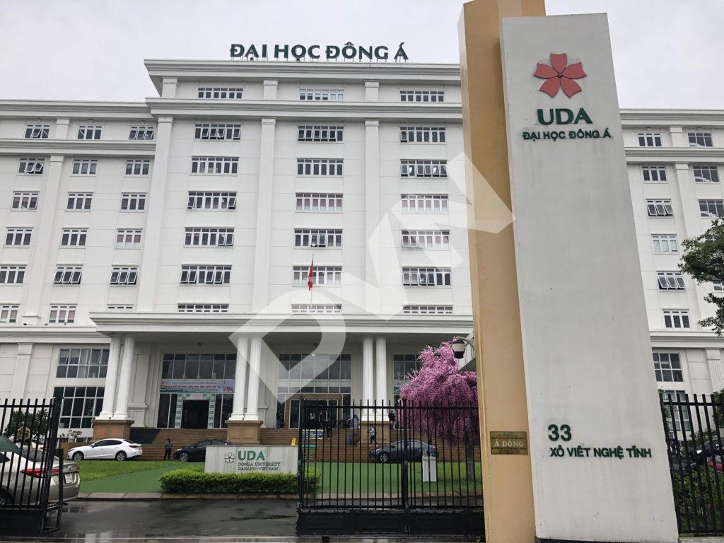 Thi công sân banh cỏ nhân tạo trường Đại học Đông Á - Đà Nẵng 4