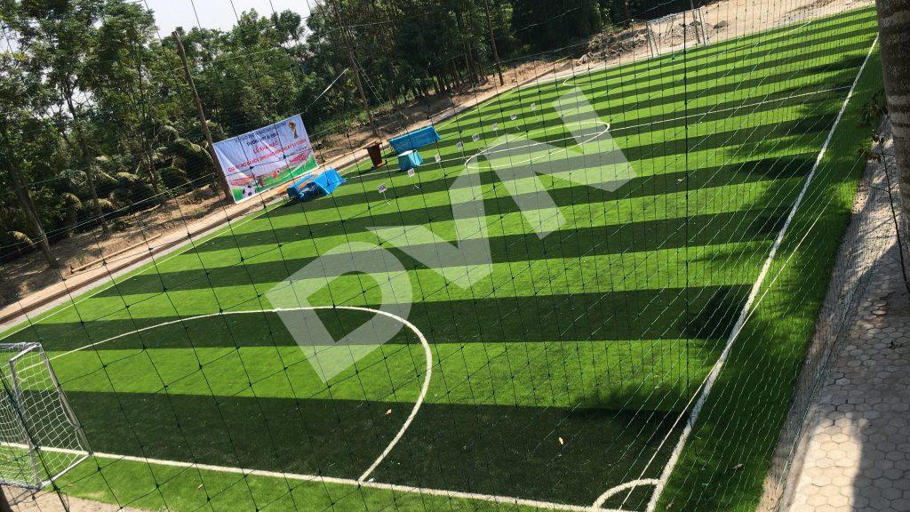 1, Một số hình ảnh của dự án sân bóng đá Trường THPT Ái Quốc 1