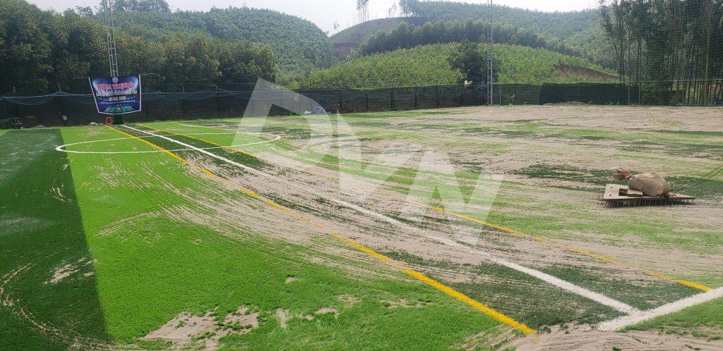 1, Một số hình ảnh dự án sân bóng tại Sơn Đông - Bắc Giang 5