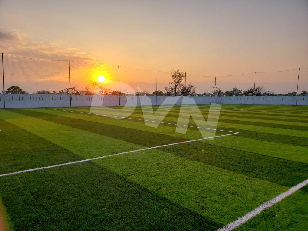 Dự án sân bóng trường THPT chuyên Lê Thánh Tông 2