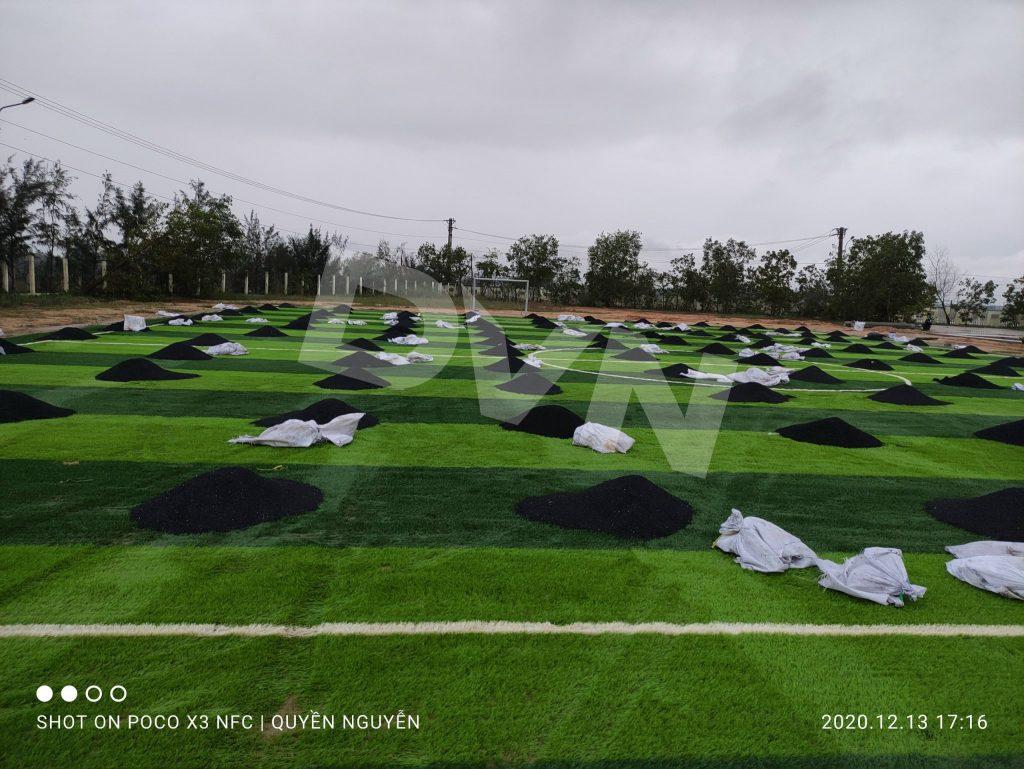 Dự án sân bóng trường THPT chuyên Lê Thánh Tông 3