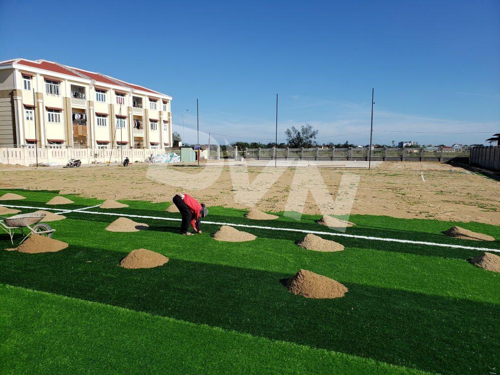 Dự án sân bóng trường THPT chuyên Lê Thánh Tông 4