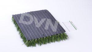 2.Xem đế cỏ nhân tạo là bước thứ hai. 2