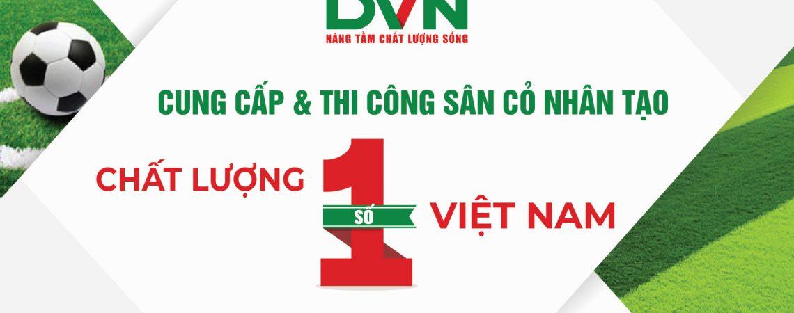 Thi công sân banh cỏ nhân tạo Công ty TNHH TMDV và DL Hoàng Vân – Quảng Bình