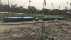Dự án thi công sân bóng Chuyên Việt - Đà Nẵng 5