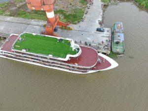1, Một số hình ảnh của dự ánTrải cỏ Du thuyền5 sao Amouir Cruise 10