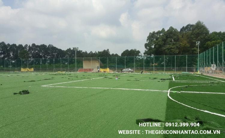 Một số hình ảnh sân bóng chúng tôi thi công tại MiềnNam 6