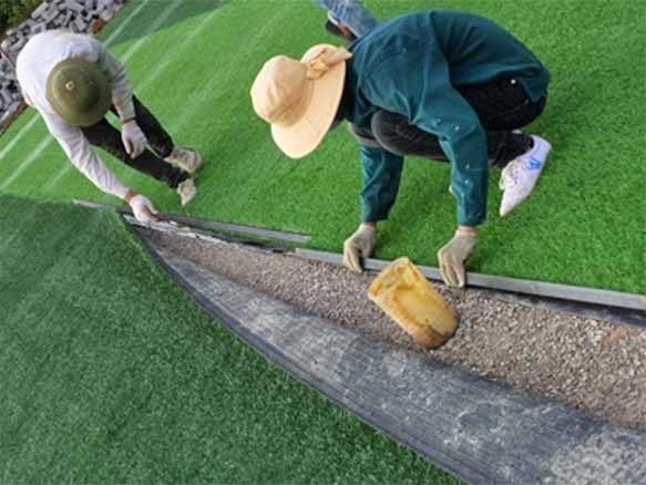 Quy trình chung khi bảo dưỡng sân cỏ nhân tạo Quảng Trị 1
