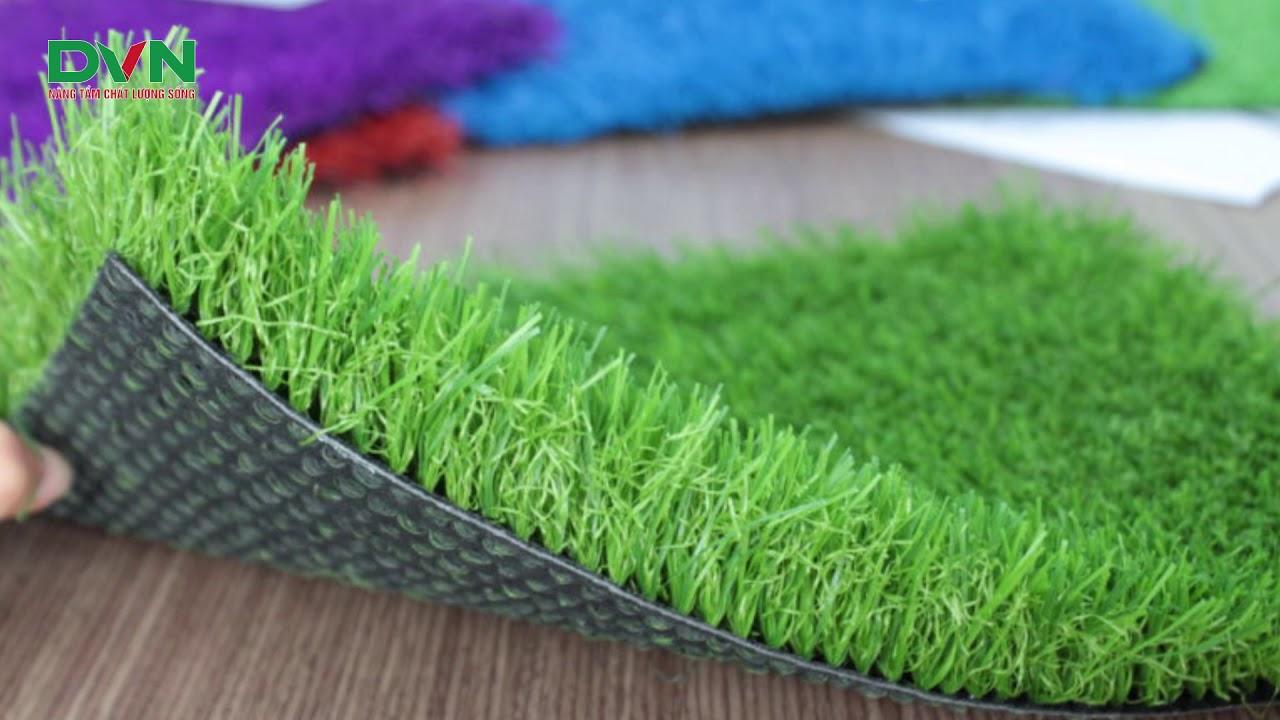 Thảm cỏ nhân tạo bao gồm những bộ phận nào 1