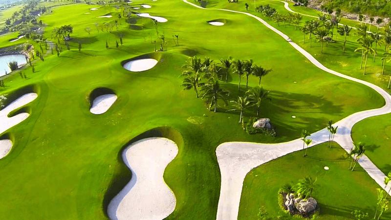 Diện tích sân Golf 9 lỗ