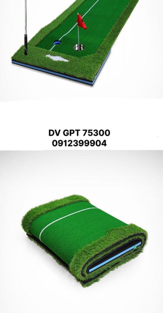 2. Cấu tạothảm tập Putting DVN GPT 75300 1