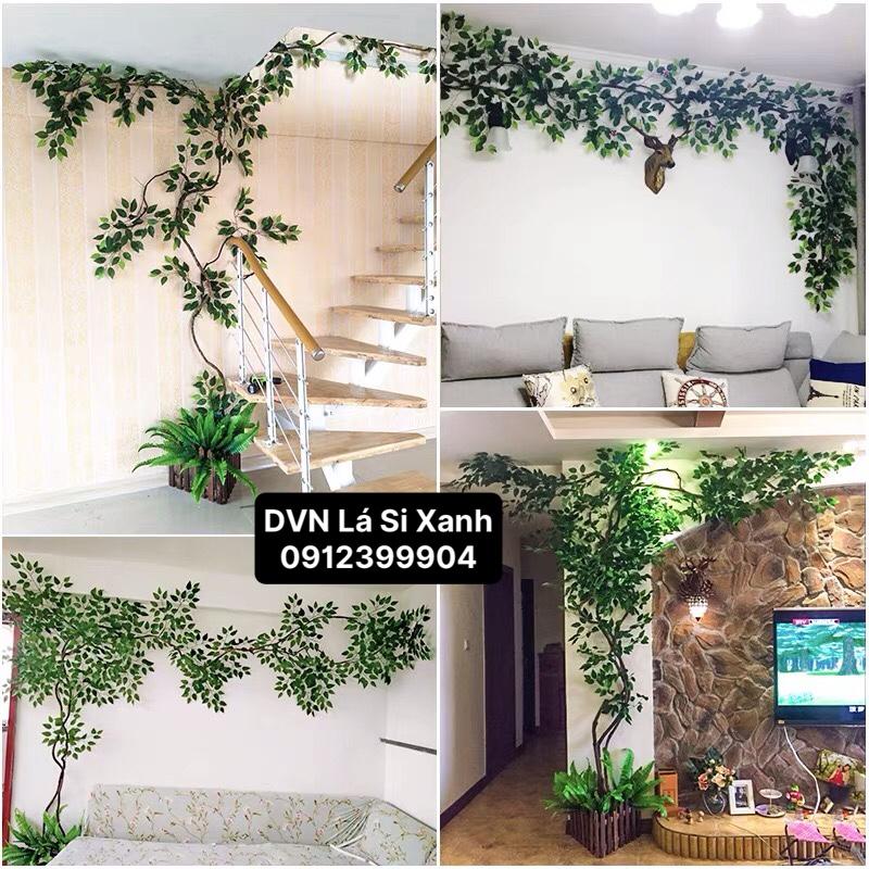 Trang trí cây xanh ấn tượng trong nhà