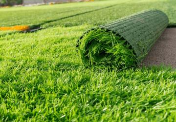 Ứng dụng cỏ nhân tạo trang trí