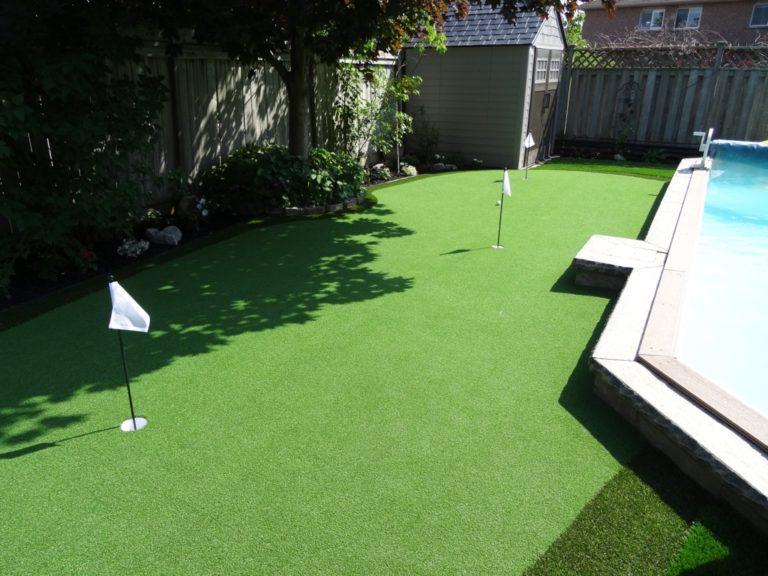 Thi công sân golf thảm golf cỏ nhân tạo ưu điểm về sản phẩm 2